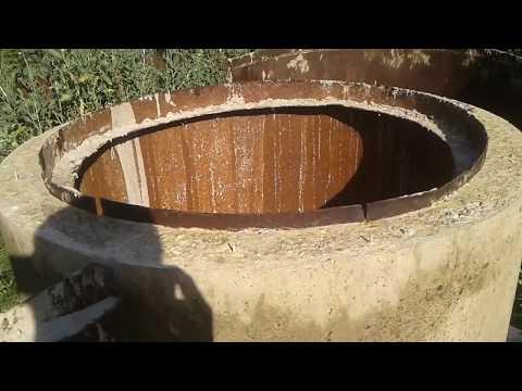 Изготовление колодезных колец своими руками. Заливка бетонных колец.