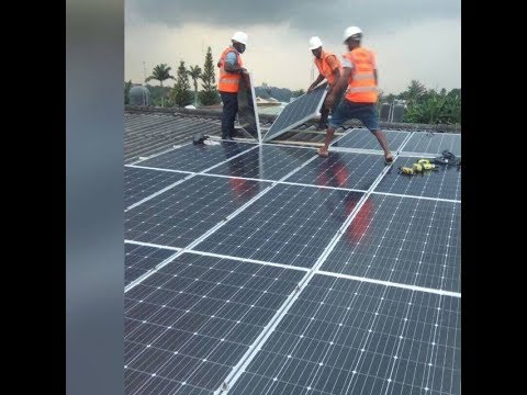 Solar in Nigeria 66: Modularity of solar. Building up gradually...