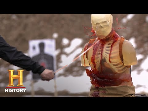 Forged in Fire: The Cane Sword: DEADLY SLICES & BRUTAL BLOWS (Season 6) | History
