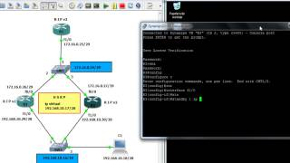 configuracion de HSRP en GNS3 [alta disponibilidad]