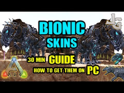 ARK - Bionic Skins - Rex and Giga - Guide - How to get them in 30 min