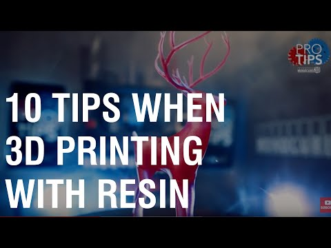 Top ten tips when 3d printing with resin for beginners.
