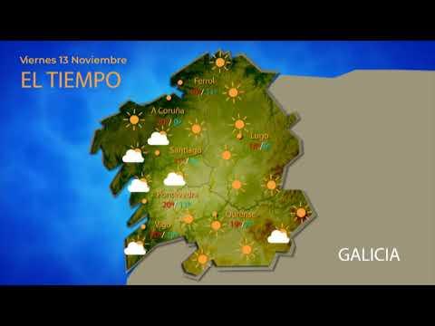 Consulta la previsión del tiempo para este viernes en Ourense