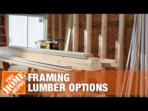 Framing Lumber Options | The Home Depot