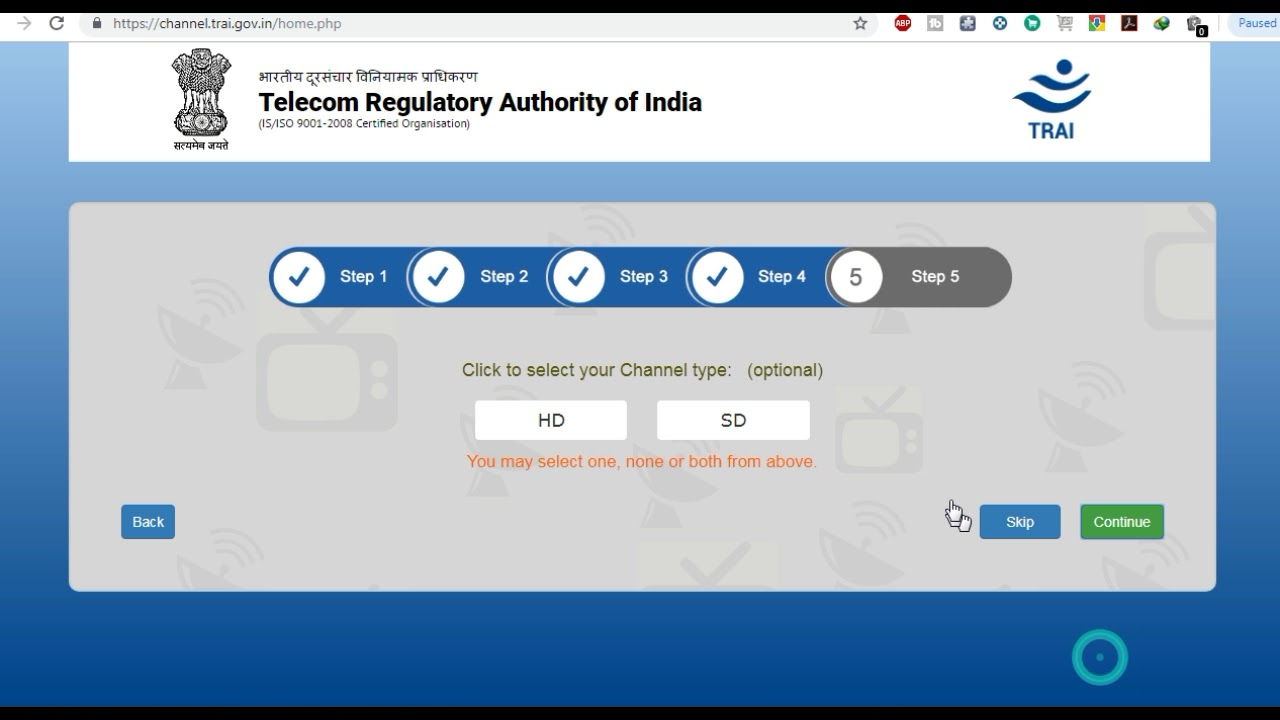 dda1481c0ad TRAI announces Channel Selector Application to streamline selection and  pricing of cable or DTH chan