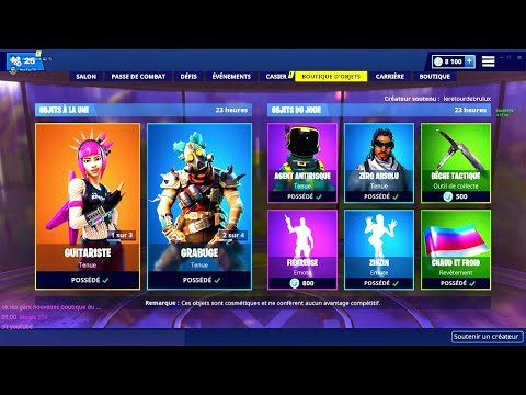 BOUTIQUE FORTNITE du 31 Janvier 2019 ! ITEM SHOP January 31 2019 !