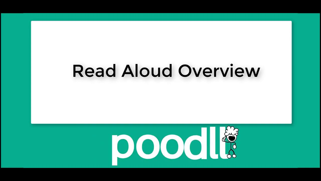 Moodle plugins directory: Read Aloud by Poodll