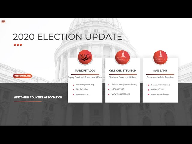 2020 Election-What the November Results Mean for the Upcoming Legislative Session