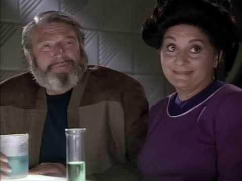 Download Guinan Asks Worf Parents Why They Never Gave Him Prune Juice