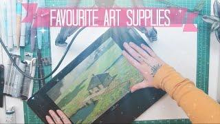 Gambar cover Favourite Art Supplies