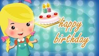 Happy Birthday lyrics music with lead vocal | Friend Style | Nursery Rhymes | Ultra HD 4K Video