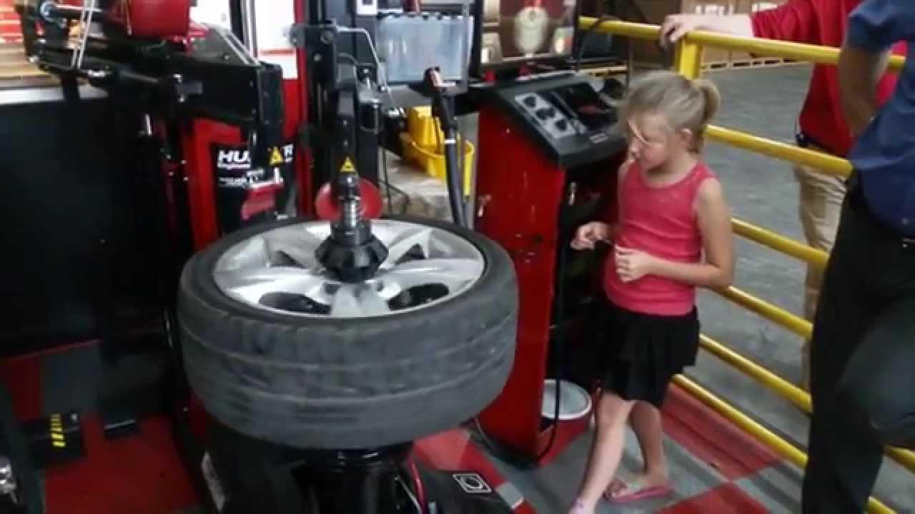 revolution tire machine