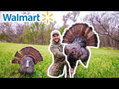 Epic WALMART Turkey Hunting CHALLENGE!!! (Catch Clean Cook)
