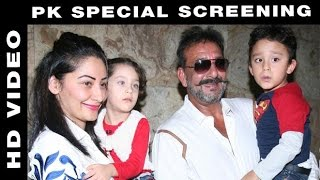 Sanjay Dutt Attends Special Screening of 'PK'