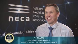 NECA Vic 2019 Industrial Small Project Winner  - C.J.  Pearce