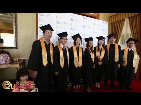Graduation Ceremony 2014 - International Business School, Malaysia - EU Business School