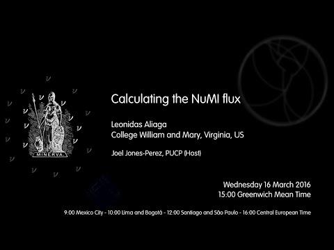 [W20] Leonidas Aliaga: Calculating the NuMI flux