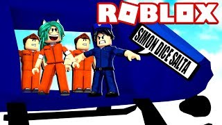 SIMON SAYS WITH SUBSCRIBERS IN JAILBREAK ROBLOX 😂