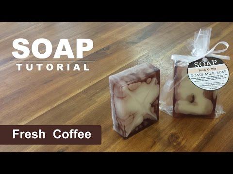Fresh Coffee Melt Pour Soap Tutorial