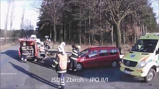Výjezd JSDH Zbiroh - Dopravní nehoda Sirá
