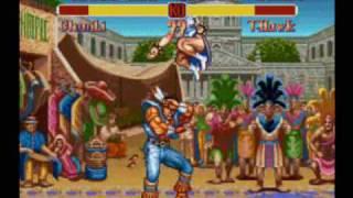 Jammo Vs. Street Fighter II
