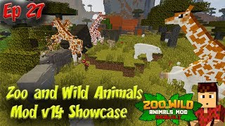 Zoo and Wild Animals Mod Showcase v1.4 Minecraft Animals Ep27