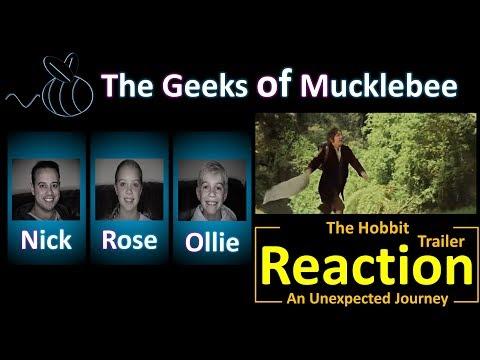 The Hobbit | An Unexpected Journey | Trailer | Reaction