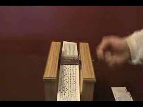 Teanola Musical Box, Barrel Organ, Street Organ Music Box