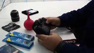 видео Чистим матрицы фотоаппарата от пыли