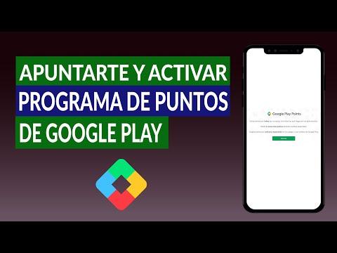 Cómo Apuntarte, Activar y Registrarte al Programa de Puntos de Google Play - Google Play Points