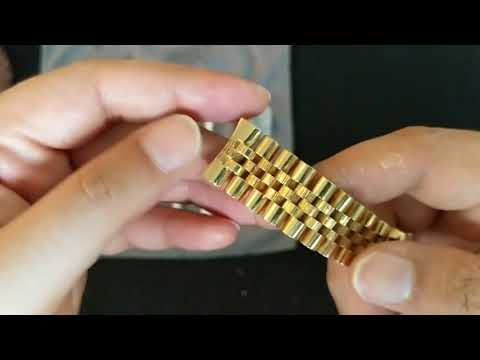 How to Polish and Care for Gold Watch: Results