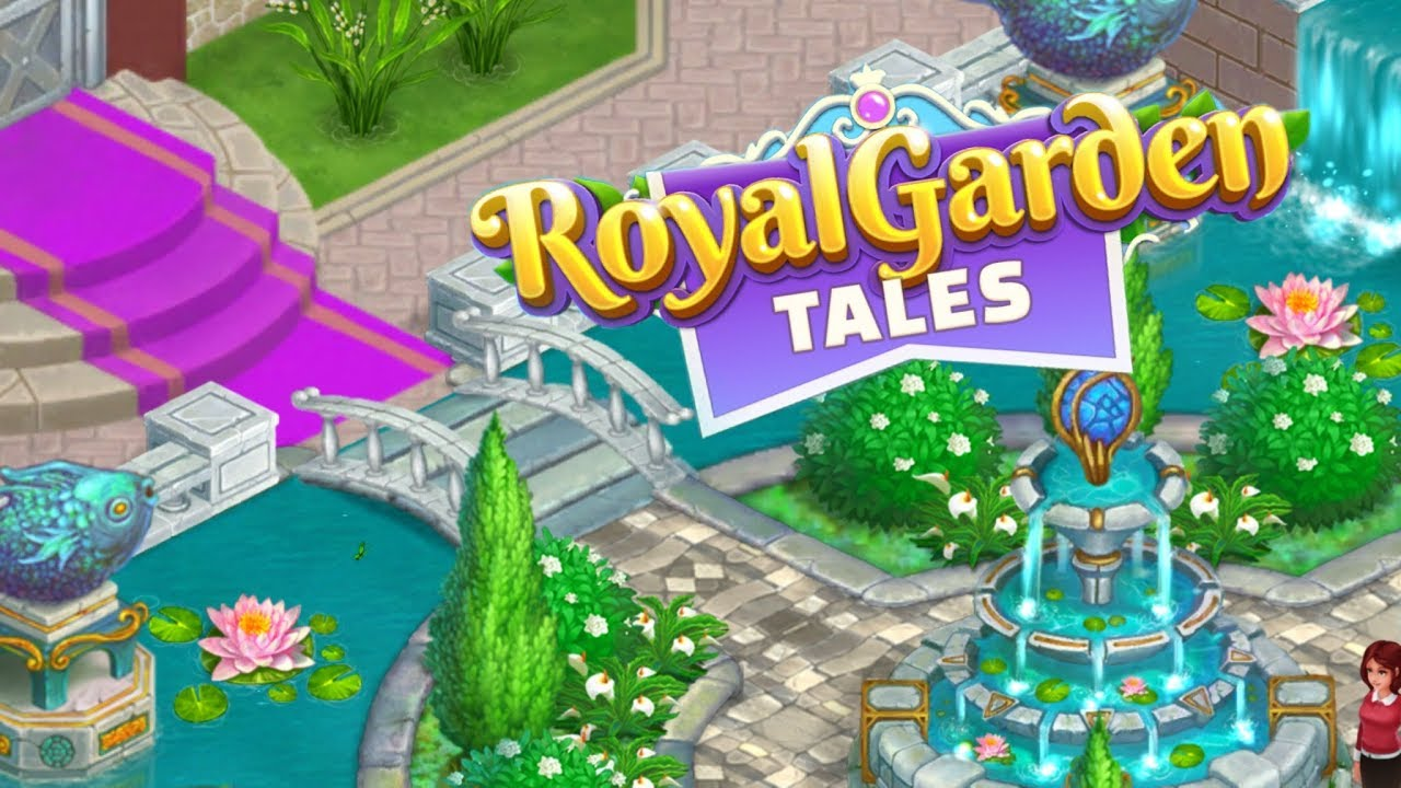 ROYAL GARDEN TALES Android / iOS Gameplay Video | Match 3 Puzzle ...