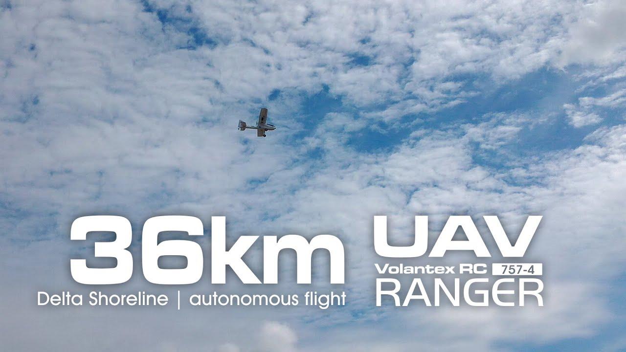 UAV Volantex RC RANGER 757-4 - 1380mm - SupermotoXL Designs