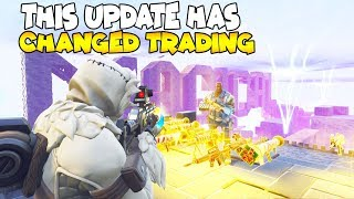 This NEW UPDATE Has Changed Trading Forever 😱 (Scammer Gets Scammed) Fortnite Save The World