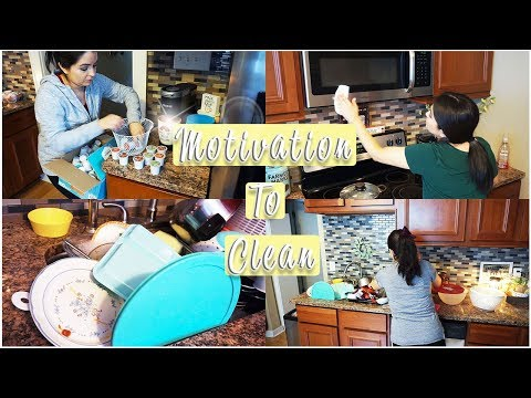 Kitchen Cleaning Motivation  || Speed Clean With Me 2019 || Dirty Kitchen
