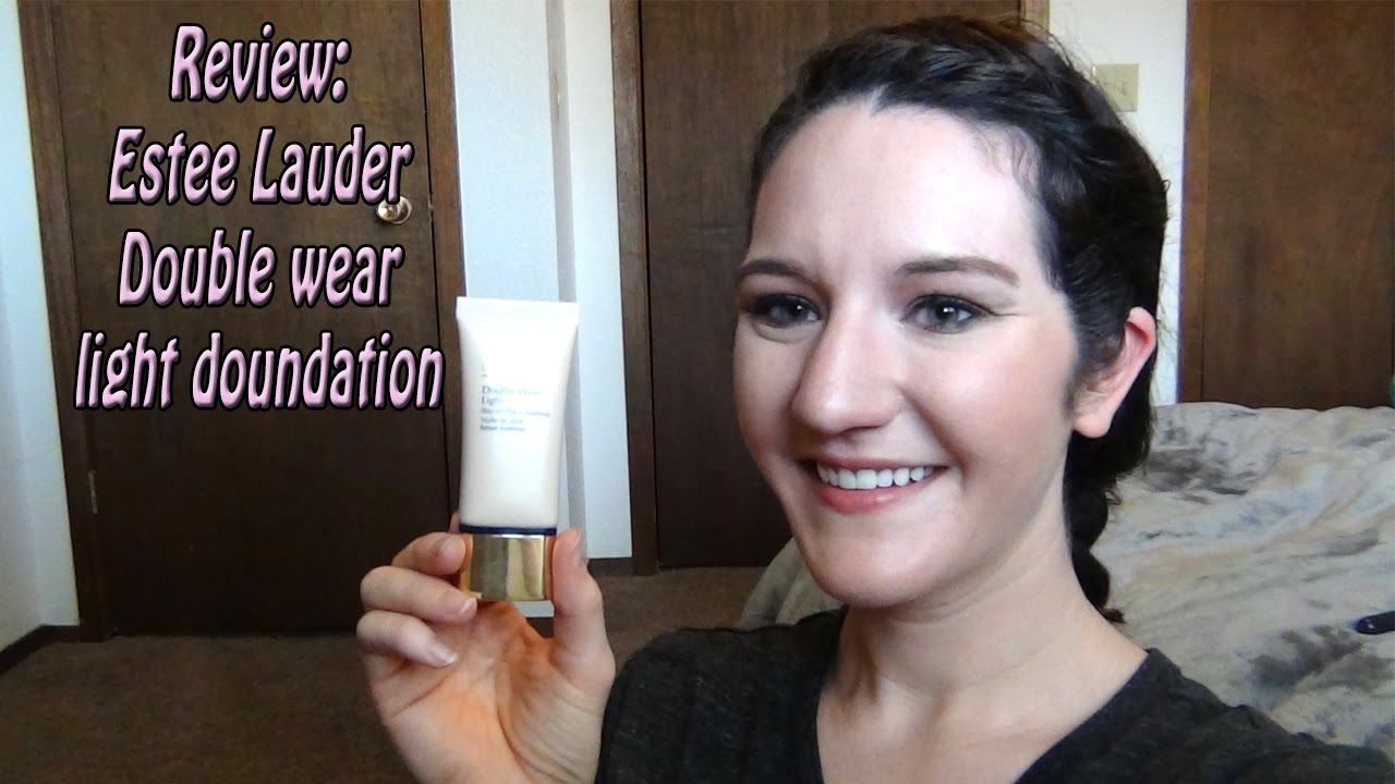 Estee Lauder Double Wear Light Foundation Review