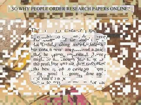 Reasons to Buy Research Paper Online