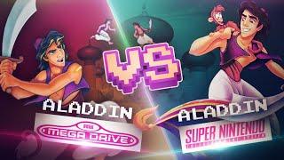 Aladdin SNES VS Aladdin MD
