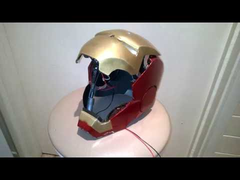 Steel Iron Man MK IV build #23- Worm Gear Faceplate Drive Full Test