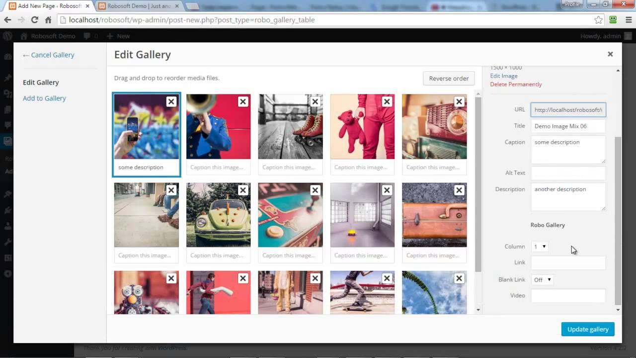 Image Gallery by Robo – Responsive Photo Gallery – WordPress