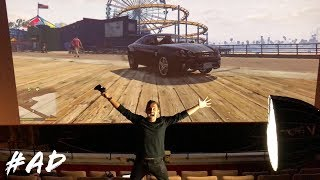 PLAYING GTA IN A CINEMA!! (EPIC)