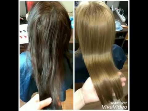 тёмно-русый волос фото