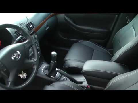 Авточехлы из экокожи для Тойота Авенсис  2 поколения  Т250