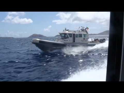 Coast Guard Boat Operations - Tradewinds 2015