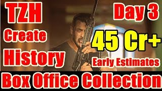 Tiger Zinda Hai Box Office Collection Day 3 I Early Estimates By BOI