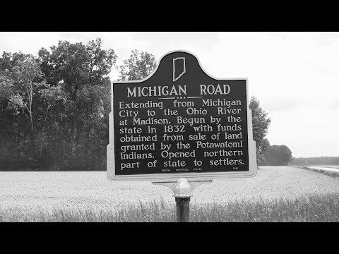 Old  Michigan  Road,  Holton,  Indiana