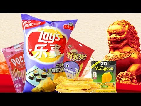 PROBANDO COMIDA CHINA! #GETONBOARDMSI