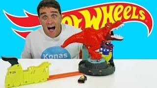 Hot Wheels T Rex Rampage ! || Toy Review || Konas2002