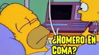 Teoria Conspirativa: ¿Homero Simpson En Coma Por 22 Años?