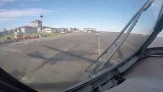 Север России п. Хатанга с вертолёта Ми-8 2015